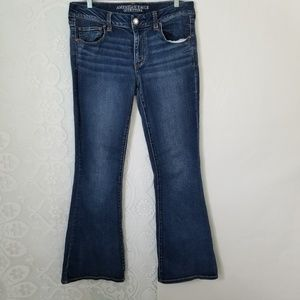 American Eagle Super Stretch Boho Jeans
